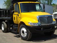 FOR SALE IS A SINGLE AXLE 2007 INTERNATIONAL 4300 DUMP
