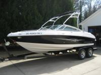 Garage kept, immaculate 2008 Chaparral 204 SSI - 21 ft.