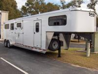 2012 SHADOW 2 1 GOOSENECK TRAILER WITH ALL OF THE