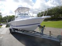 2001 Proline 250 Walk around. This boat has only 188