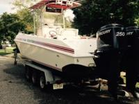 1995. 31 foot fountain center console. Motors twin