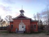 Affectionately restored, 1900s school house with a