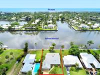 RARE OPPORTUNITY to live directly on the Intracoastal.