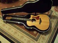 Up for sale taylor 314ce acoustic guitar 2004 with non