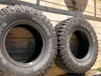 I have two mickey thompson 315/70/r17 one has 45% tread