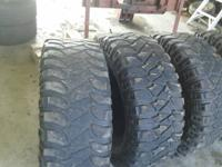 315/70/R17 Mickey Thompson Baja MTZ two half tread