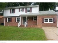 You will love this brick home! Very nice area, lots of