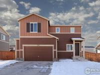 Check out this like-new 2 story home in SE Loveland.