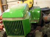 This is a really nice 318 John Deere . It has had the