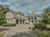 Stunning custom bay front home that is a must see!