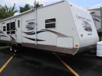 31 ft Copper Canyon Travel Trailer with living