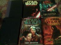 The hardbacks are Red Harvest and Old Republic:Deceived