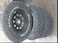 I have really good set of four wheels and tires for