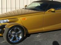 2002 Chrysler Prowler Convertible This car is