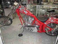 "CUSTOM CHOPPER MADE BY CLEVELAND CUSTOMS, HAS 121"" TP"