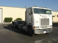 1995 Freightliner, 435 HP caterpillar engines, 12,000