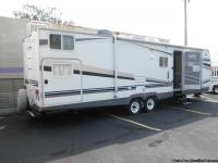 32' Camper Trailer (pull behind), Rear Double Bunkhouse
