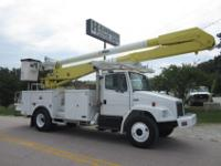 2002 Freightliner FL-70 55' Bucket, 60' Working Height,