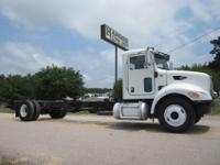 2009 Peterbilt 335 Cab and Chassis, PX-8 Paccar Engine,