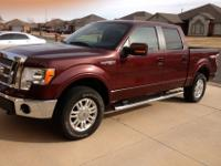 I have a Ford F-150 4x4 Supercrew lariat addition. It