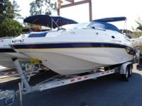 Really nice 2003 Chaparral 24 foot Sunesta deck boat