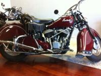 All original 1948 Indian Chief for sale, asking for
