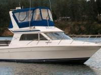 This quality Chris-Craft vessel includes twin Volvo
