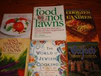 32 Cook Books all for $30. Call or email Bec