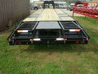 This is a new, Kearney, 32' dual tandem axle trailer,