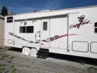32 FOOT 2002 EXSTREME TOY HAULER BY KIT,TOY STORAGE
