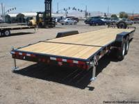2010 Bumper Pull 2 Car Trailer by PJ Trailers. Utilized