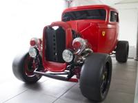 32 Ford chassis, boxed, stainless inserts Independent