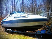 32 foot Luhrs cabin cruiser. Sleeps 6. Twin 289's. Teak