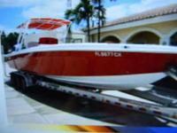 32ft wellcraft scarab sport ccenter console 1983 hull w