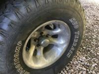 "I have four 32"" Pro Comp Mud Tires used For Sale. The"