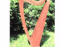 This Harp is a 32 strings (Mid-size) keys C-G with