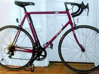 For sale is a 1989 Fuji Ace 12-Speed Road Bike ? 58 cm