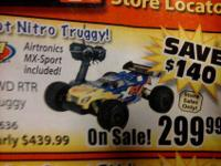 Brand new 4wd nitro truggy with 2.4ght mx sport never
