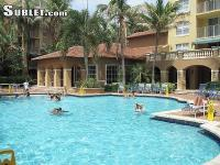 This poolside Aventura apartment is a perfect holiday