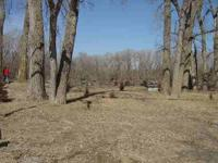Great walkout lot in Osage Ranch. No neighbors to the