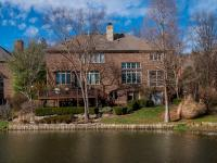 Enjoy quintessential golf and lake views from the