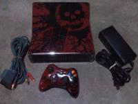 320GB Gears of war edition XBOX 360 slim console and