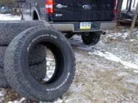 4 Bfgoodrich 325 60 20 inch tires ...these tires just
