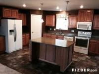 Huge open floor plan with gorgeous kitchen. Big family