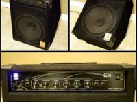 This is an Eden E15 Bass Guitar Amplifier. This is an