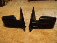 Pair of Mirrors for Ford F-150. These Mirrors have