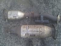 Hi I'm selling a scrap catalytic converter & dpf for a