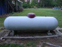 325 gallon with regulator. asking $400 OBO. open to