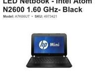 Brand new Hp Mini Netbook in box. Price includes