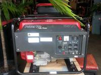 THIS GENERATOR HAS JUST BEEN PROFESSIONALLY SERVICED.